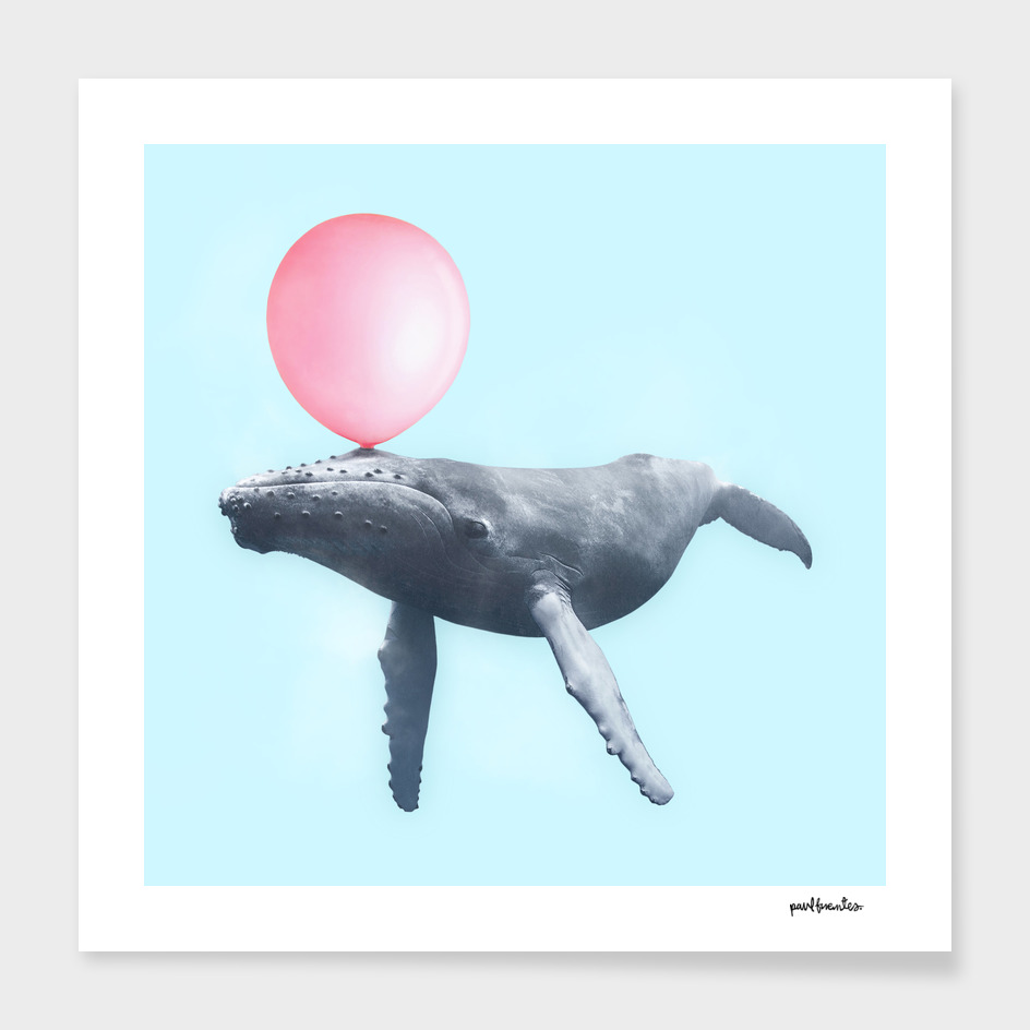 WHALE BUBBLEGUM main illustration
