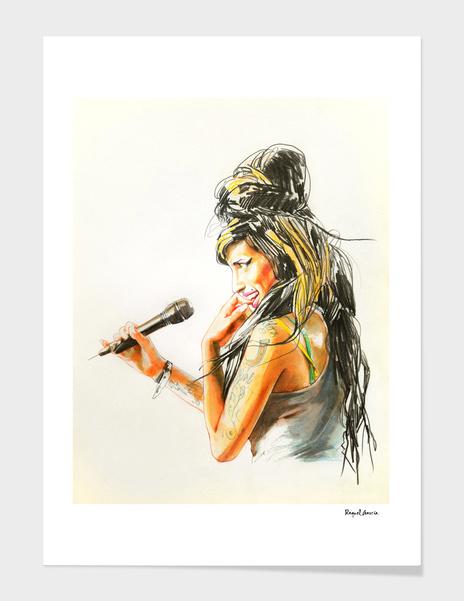 Amy Winehouse /2 main illustration