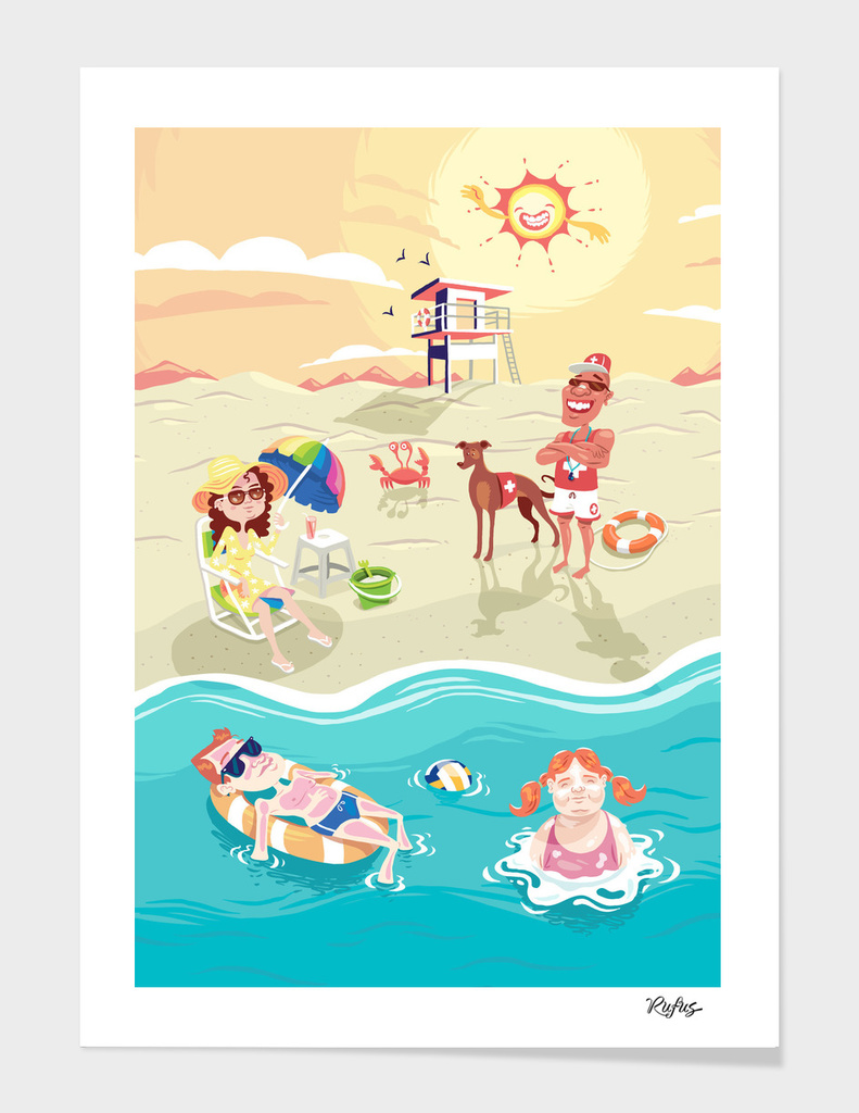 Summer Day main illustration