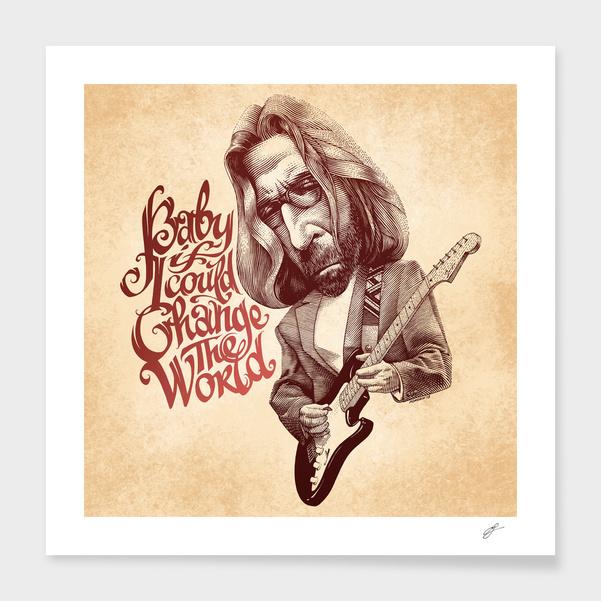 Eric Clapton main illustration