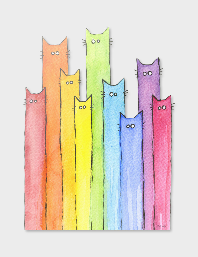 Rainbow of Cats