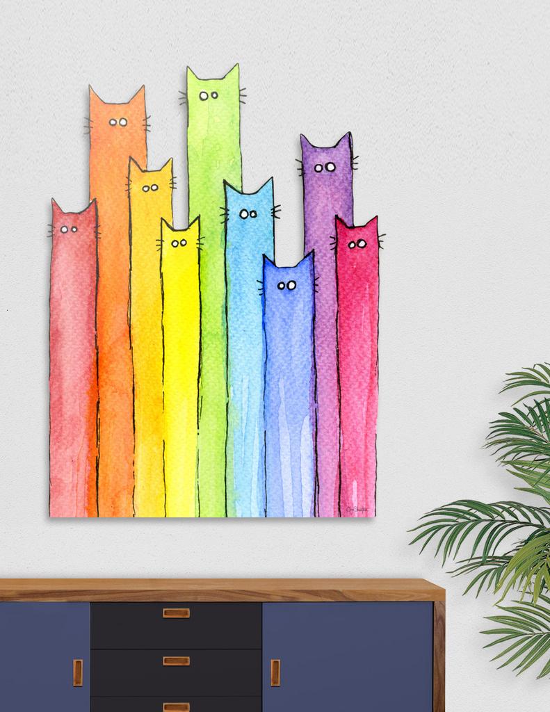 Rainbow of Cats main illustration