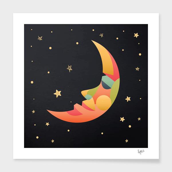Imaginative Moon main illustration