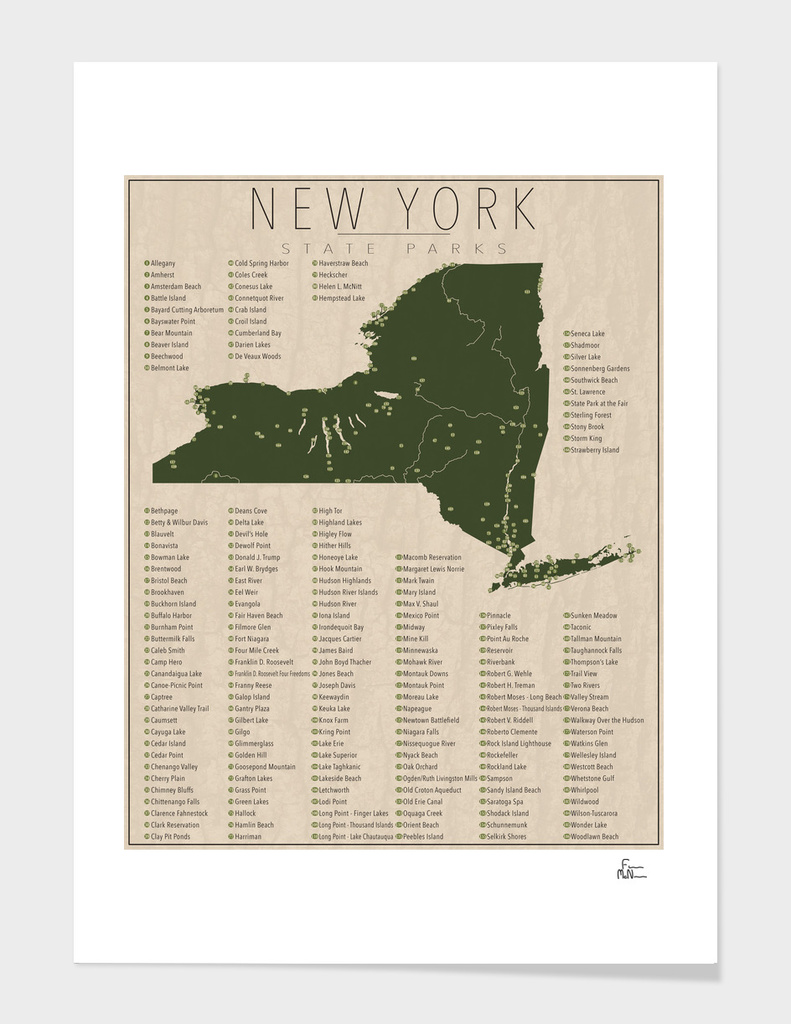 New York Parks main illustration