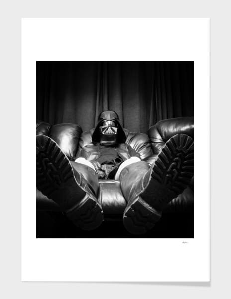 Come to the Dark Side, We Have Recliners main illustration