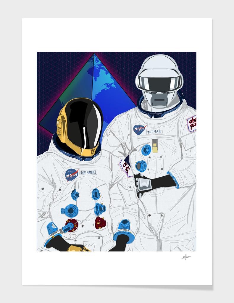 Daft Punk main illustration
