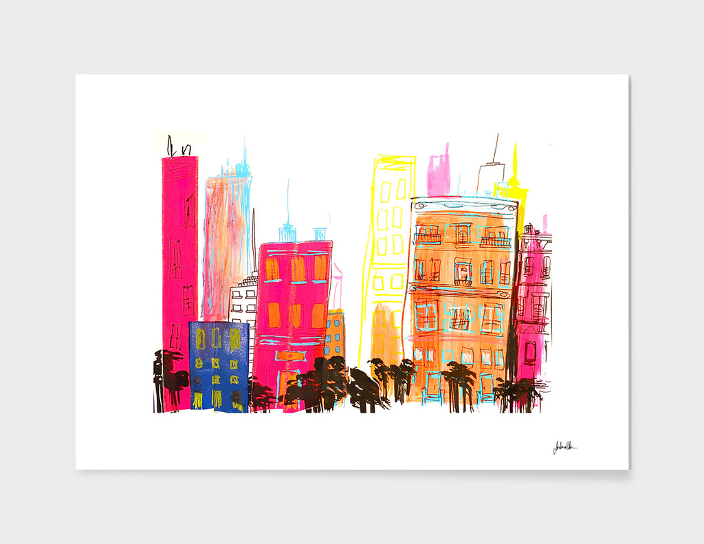 City Life main illustration