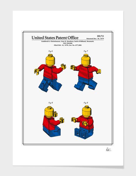 Toy Figure Patent v3 main illustration