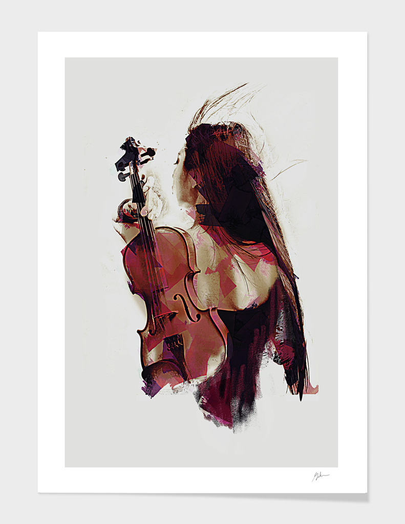 Violin main illustration