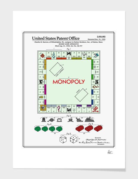 Board Game Patent main illustration