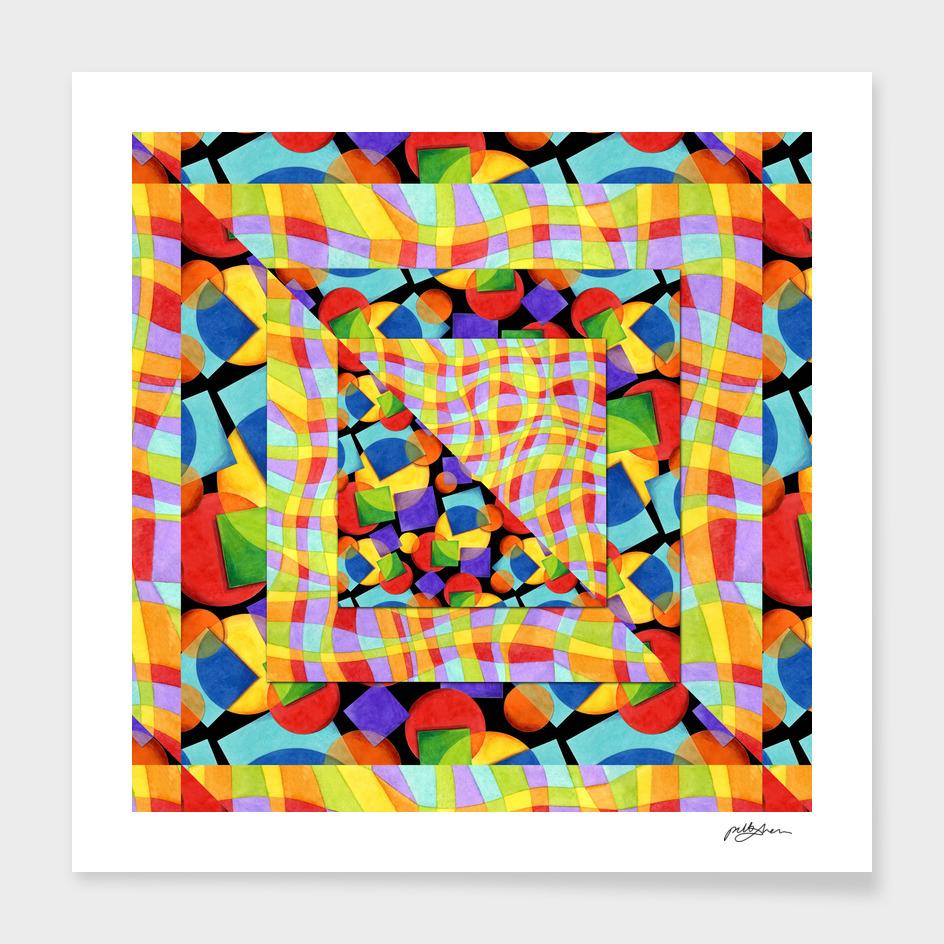 Candy Rainbow Geometric main illustration