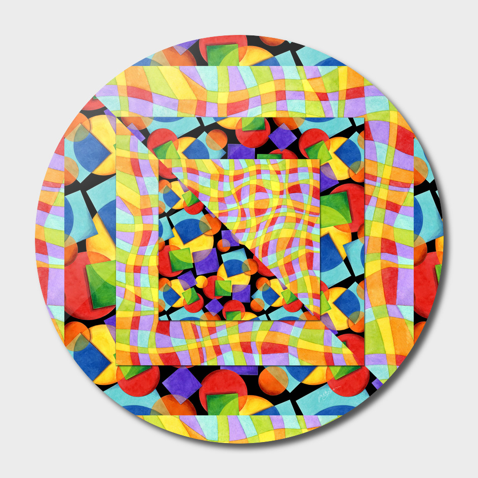 Candy Rainbow Geometric main illustration