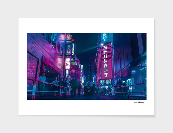 Tokyo Bloom - Purple Nights main illustration