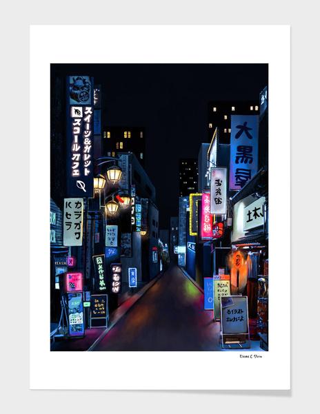 Tokyo Lights main illustration