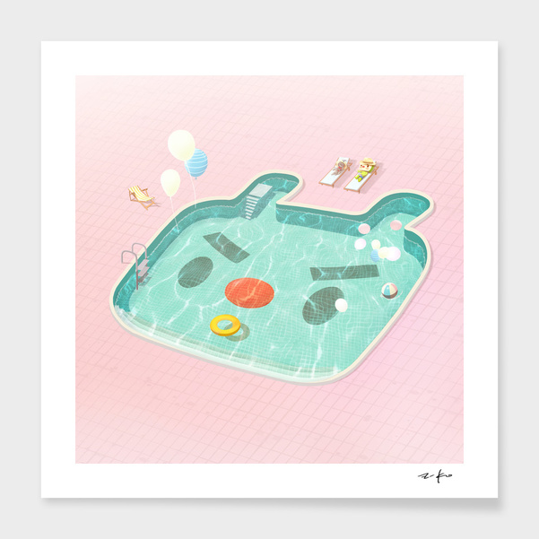 Poolday main illustration