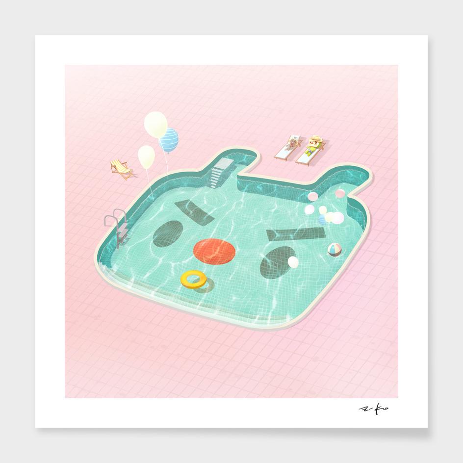 Poolday main illustration