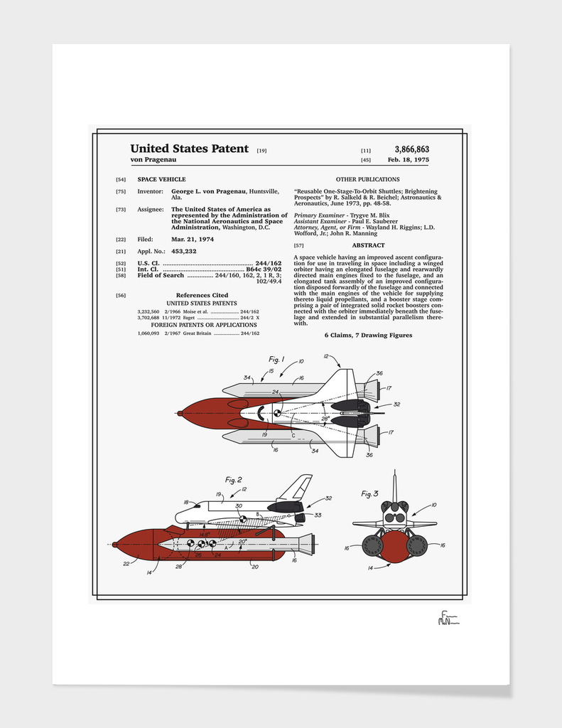 Space Shuttle Patent