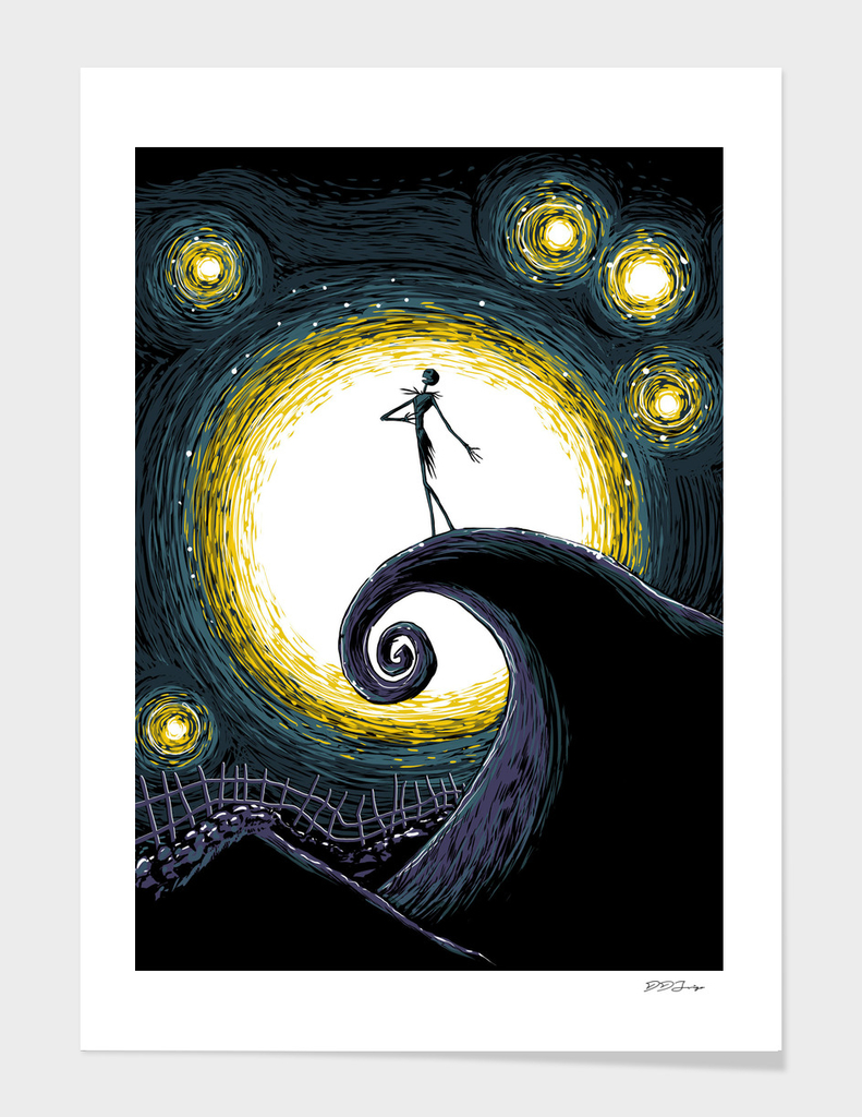 Starry Nightmare main illustration