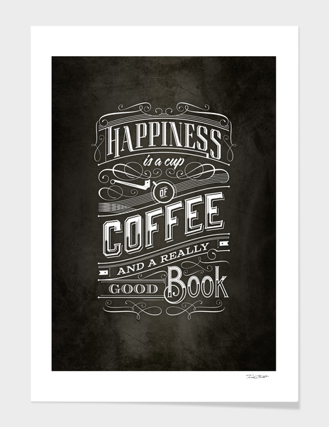 Coffee Typography main illustration