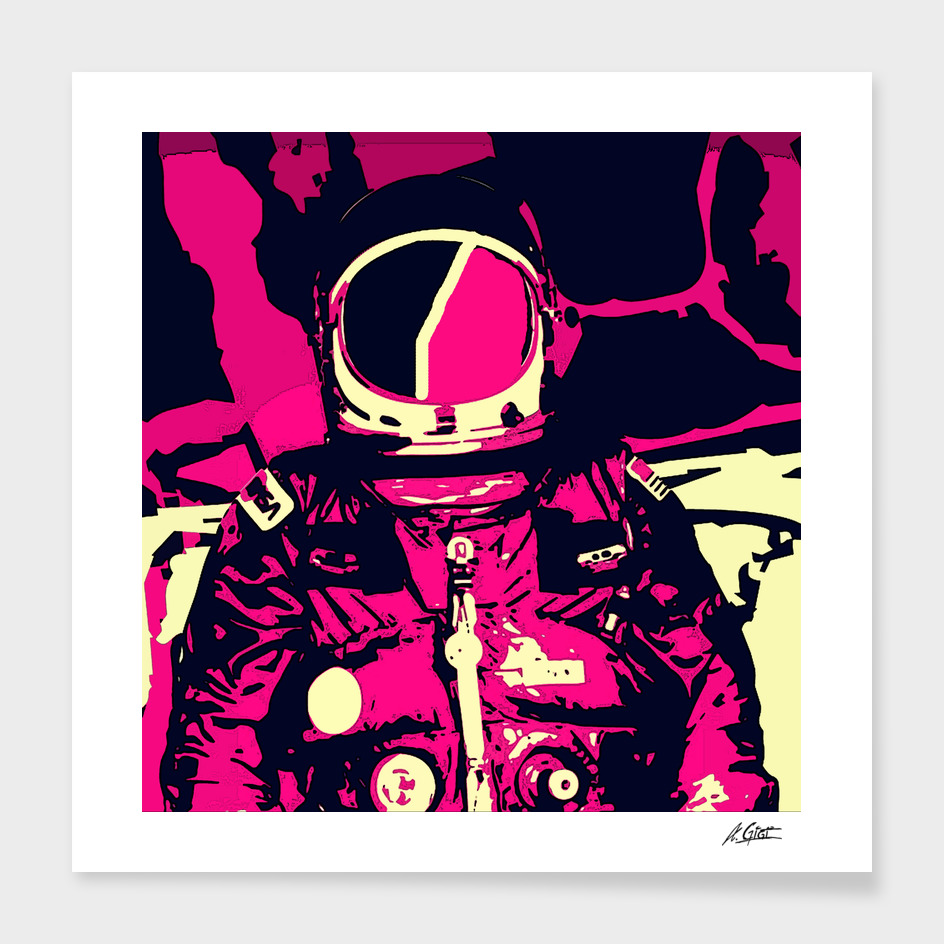 Astro Mike main illustration