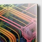 Acrylic Glass Print illustration