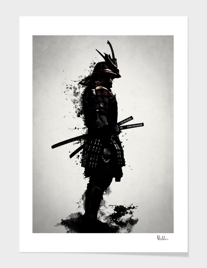 Armored Samurai main illustration