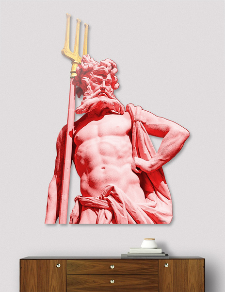 Pluto Statue - Nymphenburg Palace - Munich main illustration