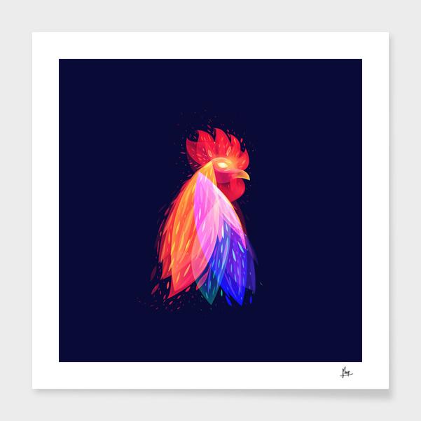 fantastic fire rooster 2 main illustration