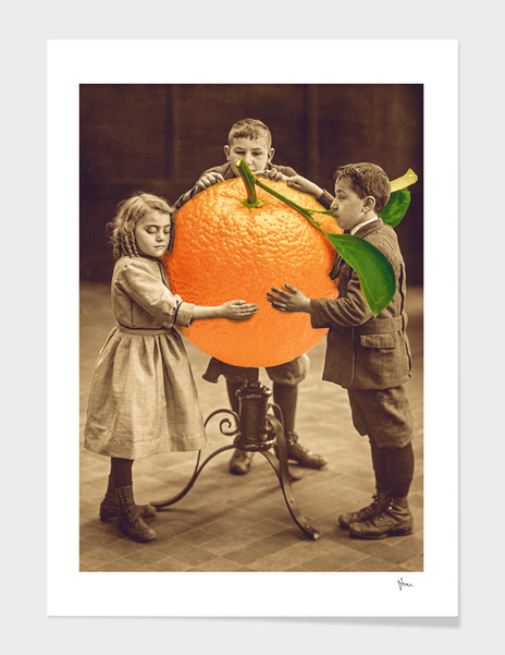 Orange lovers main illustration