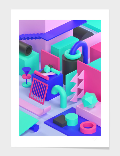 Geometric Explorations I v2 main illustration