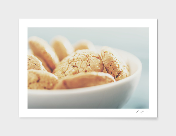 Delicious Italian Amaretti Biscuits main illustration
