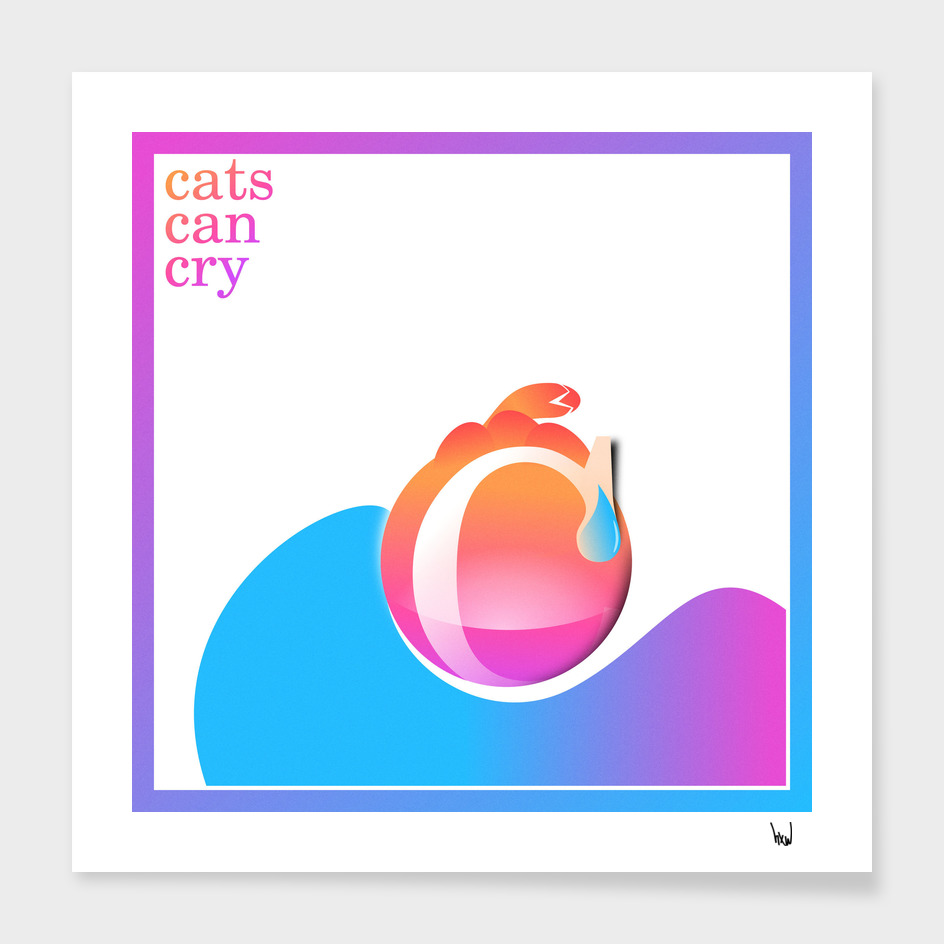 cats can cry