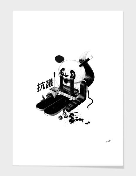 European Panda main illustration