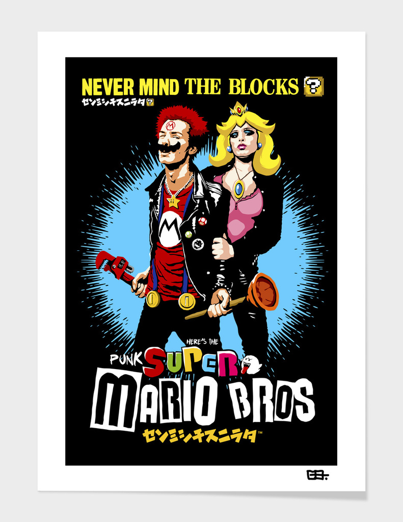 The Sid & Nancy Nintendo Lost Levels main illustration