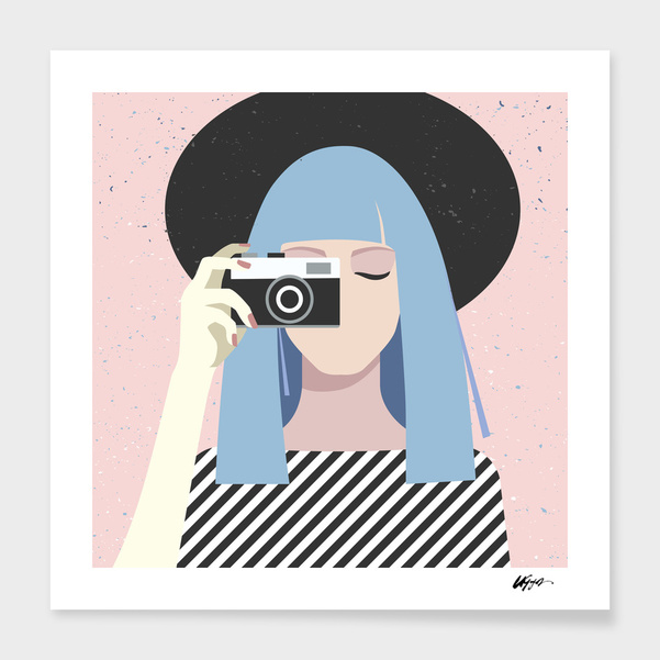camera_girl main illustration