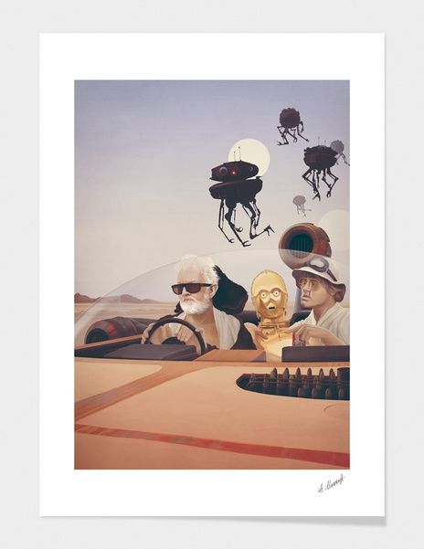 Fear and Loathing on Tatooine main illustration