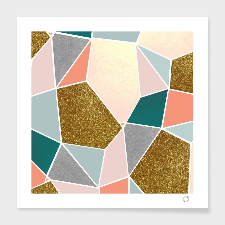 Geometric main illustration