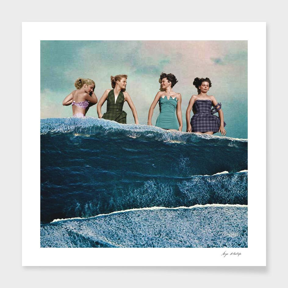 Seabathing main illustration