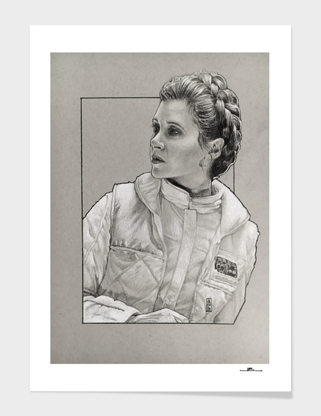 Princess Leia main illustration