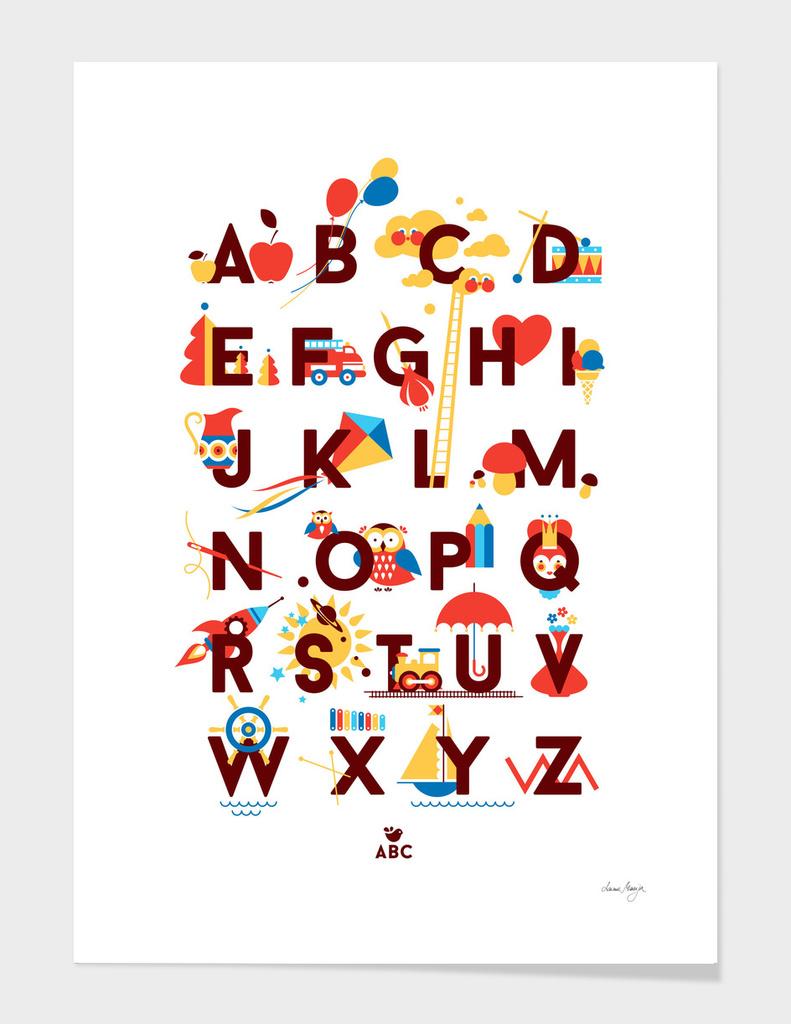 Alphabet main illustration