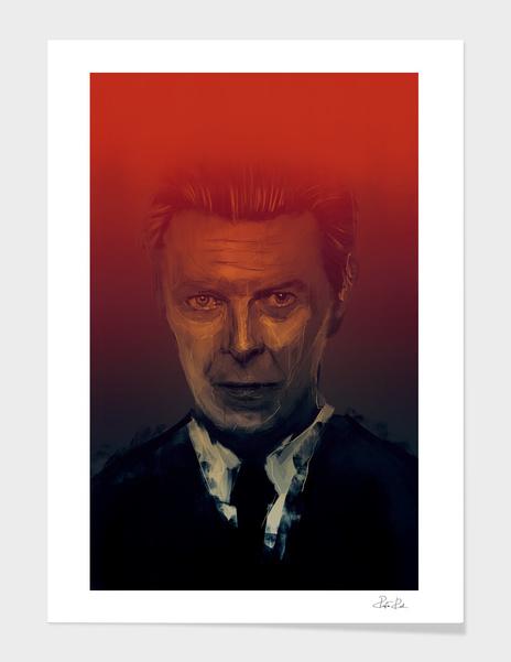 David Bowie main illustration