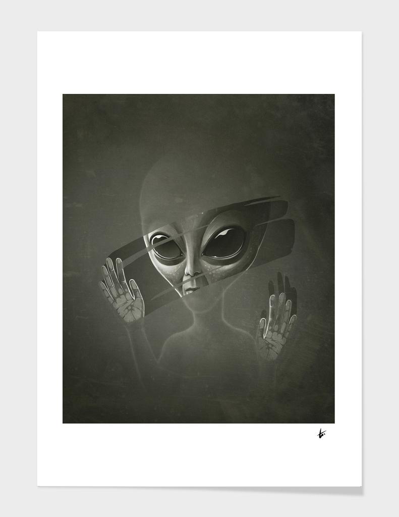 Alien main illustration