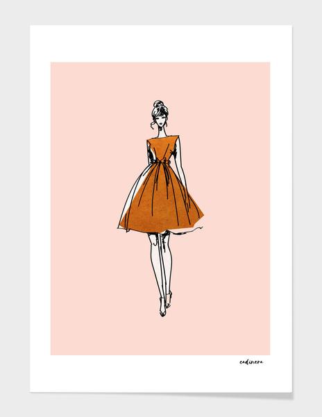 The Copper Girl main illustration