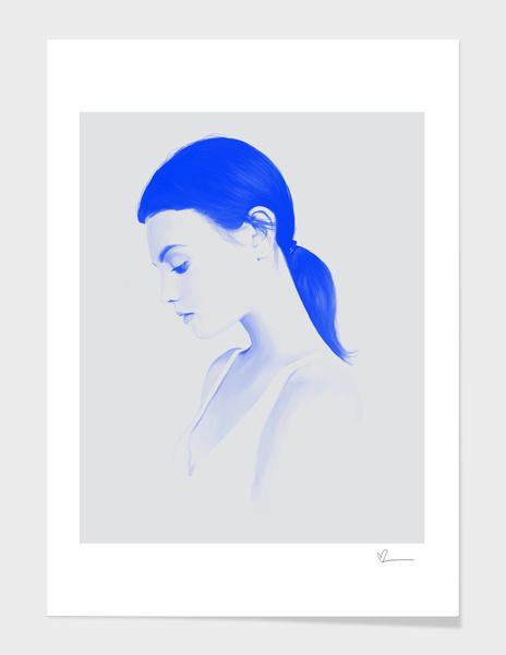 Blue Portrait main illustration