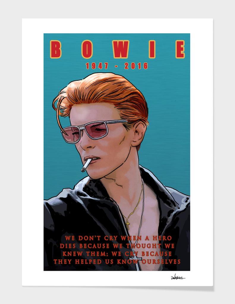 Bowie: Memento mori main illustration