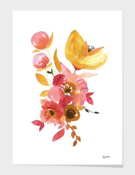 Watercolor Floral 2 main illustration