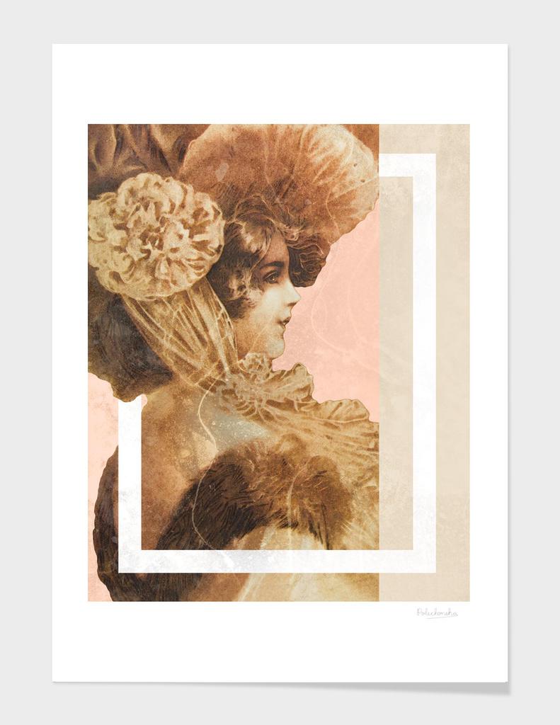 Vintage Lady main illustration