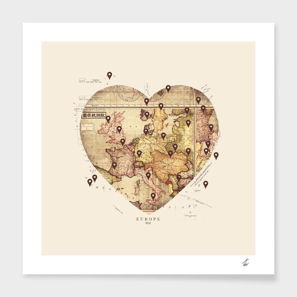 Love To Travel main illustration
