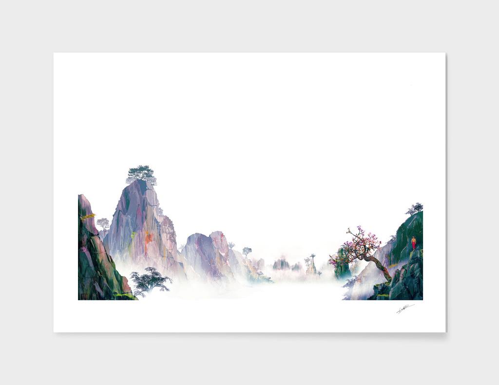 CHINESE LANDSCAPE I main illustration