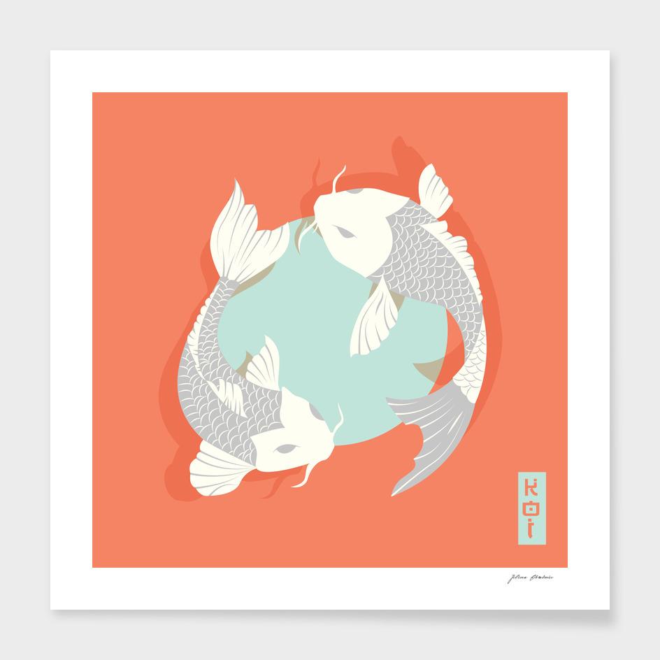 Koi fish 004 main illustration